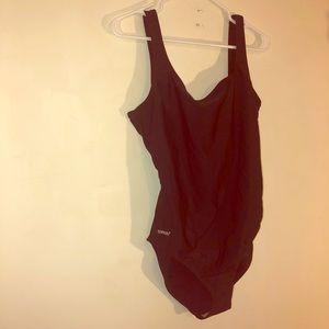 Vintage dead stock speedo one piece swimsuit